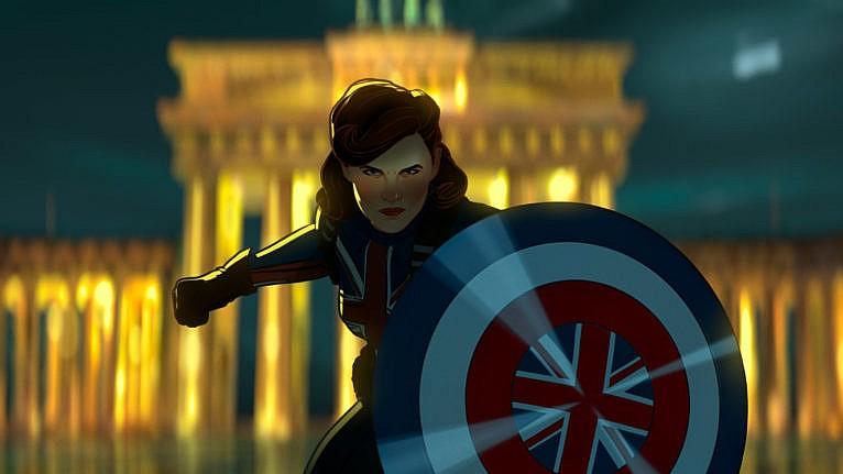Captain Marvel in Marvel Studios' 'What if...?' exclusively on Disney+ (Marvel Studios)